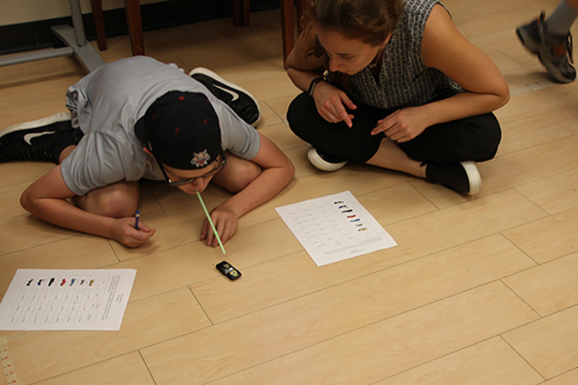 Activity at Train Your Brain Summer Camp