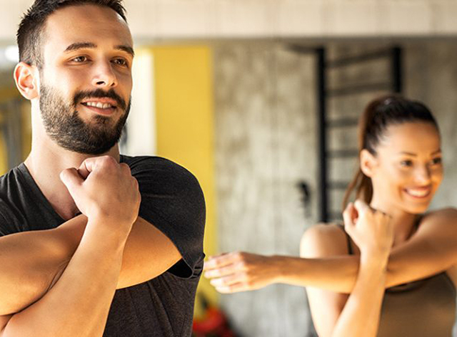Stretching exercises to avoid injury