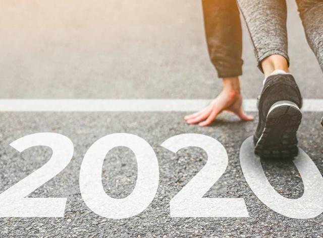 2020 starting line